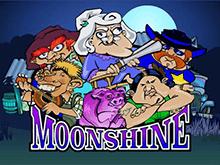 Электронный игровой автомат с бонусами - Moonshine