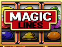 Старт ставок в электронном игровом автомате Magic Lines